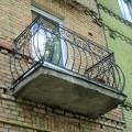 Балкон в Гродно выпуклый
