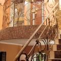 Ограждение лестницы в Путрышках