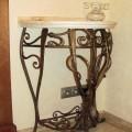 Пристенный столик в Гродно ковка
