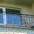 Кованый балкон в Гродно